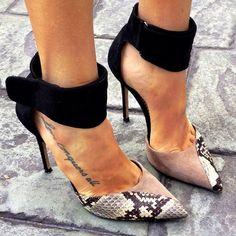 Lanvin.love ankle straps
