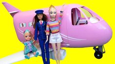 AIRPLANE ! ELSA toddler gets AIRSICK in Barbie's Plane - Vacation time! This toys dolls parody video shows toddler ELSA going to the airport, checking-in, boarding a plane, taking off , and landing ! Elsa toddler get AIRSICK !  https://youtu.be/4OlW4wBqZsU   #Elsa #Anna #frozen #dolls #toys #video #Comeplaywithme #fun #play #children #kids #toddlers #airplane #jet #Barbie #Teresa #pilot #takeoff #landing #eat #food #airsick #vomit #Shopkins #travel #vacation #flying #boarding #checkin