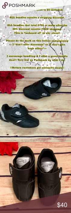 e2898b172ed043 LACOSTE Sport Paris Babe Limited Infant Sneaker 6 Lacoste made a limited  run crib shoe and