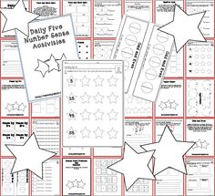 Math Work Stations-Number Sense