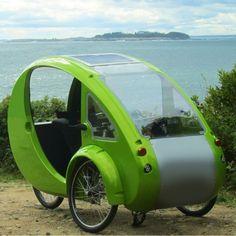 The Solar Velomobile - Hammacher Schlemmer