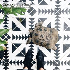 Cement Tile Shop - Tulum Pattern - Amber Thrane 4