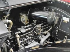 1949 Rolls Royce Silver Wraith Engine 1 View