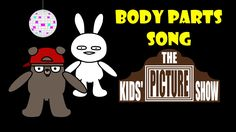 Body Parts Song / Dance - The Kids' Picture Show (Fun & Educational Lear...