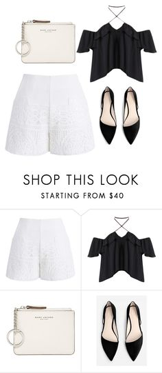 """""""Good look💋"""" by uniandcorn1 ❤ liked on Polyvore featuring Chicwish, Marc Jacobs and MANGO"""