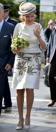 HM Queen Mathilde of Belgium - Sep 10, 2013 - Royal Visit to Wavre, Belgium