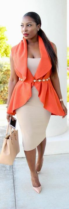 TANGERINE   NUDE / Fashion By Irony Of Ashi