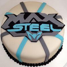 Bolo Decorado em pasta americana - Max Steel!!!