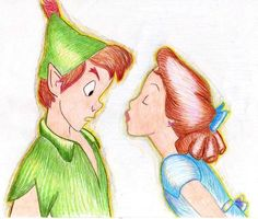 Peter and Wendy by MOD37.deviantart.com