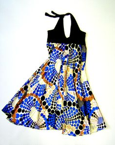 Neckholder dress