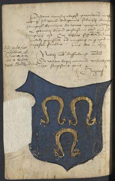 Livre des procurateurs de la Nation Germanique ( Arch. dép. du Loiret, D 213) Cookie Cutters