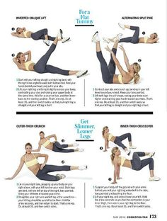 Legs and tummy workout