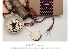 Cabaz 7 Chocolate, Gift Wrapping, Gifts, Snowflakes, Cocoa, Gift Wrapping Paper, Presents, Wrapping Gifts, Chocolates