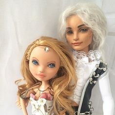 Ooak Ever After High Doll Repaint By Liuba Small