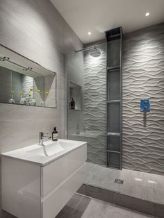 Contemporary Bathroom by Michelle Chaplin Interiors | Private Loft in London - Pinned onto ★ #WebinfusionHome ★