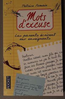 """l'instant des lecteurs: """"Mots d'excuse"""" - Patrice ROMAIN"""