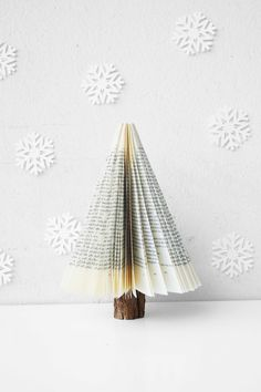 After sharing this post with you at your Facebook page I got invited by your team to submit this post here! My submission is a minimalistic Christmas tree decor I made out of a branch and a book.…