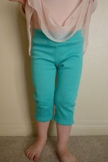 Easy to make leggings, woohoo,