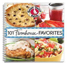 Gooseberry Patch 101 Farmhouse Favorites  Recipes