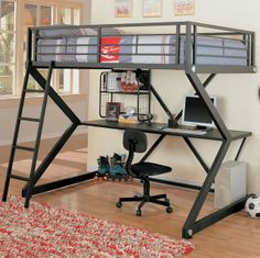 Ikea Loft Bed With Desk Assembled In Washington Dc By