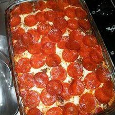 Pizza Casserole on BigOven: