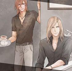 Ren & Camus Camus Utapri, Jinguji Ren, Uta No Prince Sama, Perfect Couple, Swings, Fnaf, Anime Guys, Strawberry, Manga