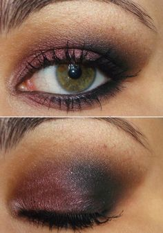 cranberry and brown (inspired by Kristen Stewart)