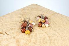 """Ohrschmuck """"Australia"""" Fair Trade, Stud Earrings, Jewelry, Rhinestones, Beads, Ear Jewelry, Jewlery, Jewerly, Stud Earring"""