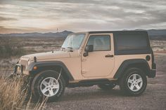My 2015 Wrangler, painted in (real) CARC tan. Love my Jeep! Pretty Cars, Cute Cars, Tan Jeep Wrangler, Jeep Wranglers, My Dream Car, Dream Cars, Dream Life, Laura Lee, Truck Bed Date
