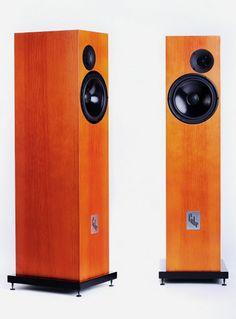 """Hurricane"" by Cube Audio Monitor Speakers, Bookshelf Speakers, Floor Standing Speakers, Music System, Speaker Design, High End Audio, Loudspeaker, Art Object, Audiophile"