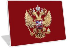 Russian Coat Of Arms by Igor Drondin #laptopskins #russiancoatofarms #coatofarms #imperialeagle #russia #devicecases #cover #iPhone #homemade #art #homedecor #giftidea #giftforhim #gift #gifts #giftideas #merchandise #onlinegift #babygift #giftshop #iPod #holidaypresents #giftsforalloccasions #presents #uniquegifts #personalizedgift #giftforher #giftforhim