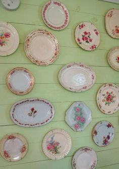 love old dishes...