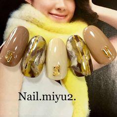 Nail.Miyu2さんの秋カラー 冬 ワンカラーのネイル