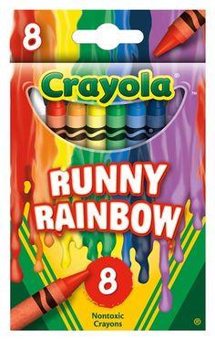 Walmart-Exclusive Crayola Crayon set: Crayola Meltdown: Runny Rainbow