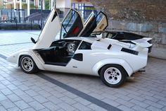 Lamborghini Countach 5000S in White on a Two Tone Interior | eBay