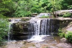 Burden Falls - 13 Enchanting Spots in Illinois.  Most of these are at least 3 hours away but a round trip of S IL would cover some good ones - maybe this summer