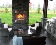 interesting placement for fireplace    Finishing Ideas Design, Pictures, Remodel, Decor and Ideas - page 312