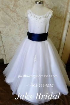 This absolutely adorable Scoop Beaded Ball Gown Flower Girl Dress showcases  a sleeveless beaded tank top cd0f53b05f83