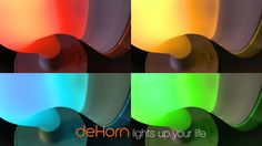 deHorn, colorful mood lighting, music & a charging station project video thumbnail