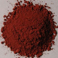 Luberon Red Oxide (Indian Red) Pigment