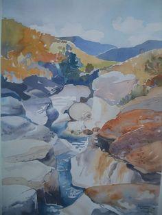 Lorraine Wilson  Drakensberg river