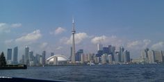 A view of Toronto from the Islands.
