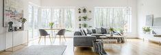 Salon w stylu skandynawskim - propozycje aranżacyjne Hygge, Living Room
