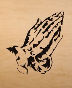free scroll saw art patterns | Scroll Saw Video » Blog Archive » 7-3-10 Pattern #1430 Praying Hands