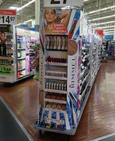 Popon | Image Gallery | Covergirl Huge Color Impact Shelf Display