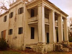 Abandoned slave house. Old Cahawba Alabama.