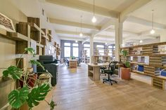 Prague-based coworking office Paper Hub has recently moved into a new office space with the world's first bitcoin-only coffee bar.