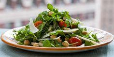 Wild Arugula and Chickpea Salad