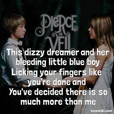 Pierce the Veil - Caraphernelia Lyric Art, Song Lyrics, Pierce The Veil Lyrics, Screamo, The Dreamers, Bands, Memes, Heart, Music