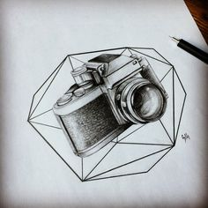 Geometric Camera by Moviemetal3.deviantart.com on @DeviantArt